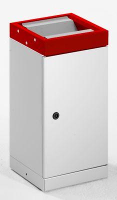 Schwingdeckel-Wertstoffsammler - einzeln, Volumen 30 l