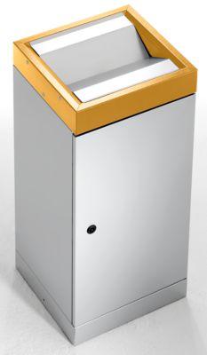 Schwingdeckel-Wertstoffsammler - einzeln, Volumen 70 l
