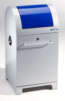 EUROKRAFT System-Wertstoffsammler 40 l - mit Abfallsackhalter, handbetätigt