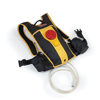 Rubbermaid FLOW™ Rucksacksystem - Fassungsvermögen 5,6 l - mit Taschen für Wasserflasche und MP3-Player
