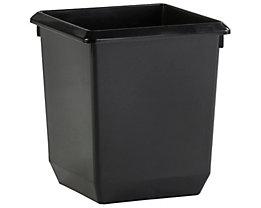 ECONOMY Papierkorb mit Einsatzbehälter - 21 + 5,7 Liter, VE 3 Stk