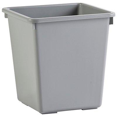 ECONOMY Papierkorb mit Einsatzbehälter - 27 + 5,7 Liter, VE 3 Stk