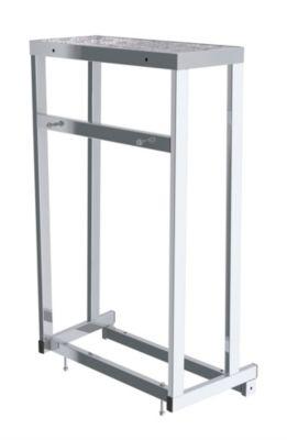 EUROKRAFT Modul-Arbeitspodest - Modul 4, 5. Stufe - Plattformhöhe 1000 mm, Gewicht 5 kg