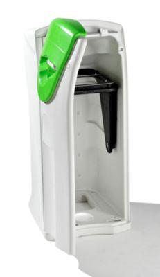 Maxi-Wertstoffsammler - Aufsatz grün - Deckel mit Einwurfpropeller