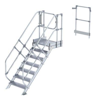 Module d 39 escalier marches en aluminium largeur marches 800 mm - Marche d escalier en aluminium ...