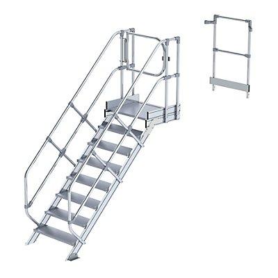 Günzburger Steigtechnik Treppenmodul - Alustufen, Stufenbreite 800 mm