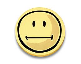 magnetoplan® Fiches cartonnées - smiley neutre, 5 lots de 100 pièces