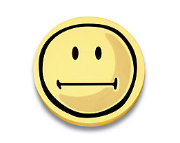 magnetoplan® Kommunikationskarten - Smiley neutral, 5 VE à 100 Stk