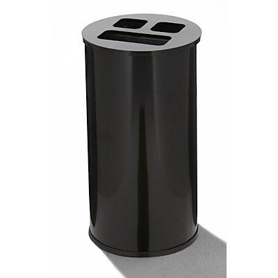 Recycling-Station - schwarz
