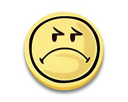 magnetoplan® Kommunikationskarten - Smiley negativ, 5 VE à 100 Stk