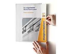 magnetoplan® Pochette transparente magnetofix - lot de 2