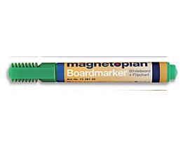 magnetoplan® Board- und Flipchartmarker - Strichstärke 1,5 – 3 mm, 6 VE à 4 Stk - grün