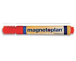 magnetoplan® Board- und Flipchartmarker - Strichstärke 1,5 – 3 mm, 6 VE à 4 Stk - rot