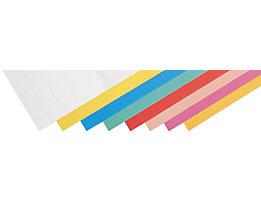 magnetoplan® Plaquettes enfichables - h x l 15 x 40 mm, 5 lots de 115 pièces
