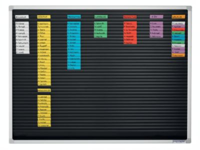 magnetoplan® Einsteckkarten - 50 mm, 7 VE à 90 Stk