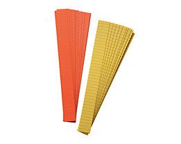 magnetoplan® Bandes de marquage - bande de 4 mm, 7 lots de 10 pièces - jaune