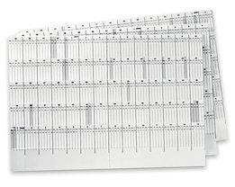 magnetoplan® Wochen-/ Monatsskala - VE 7 Stk - Woche 1 – 53