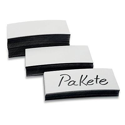 magnetoplan® Magnetetiketten - weiß, 2 VE à 100 Stk