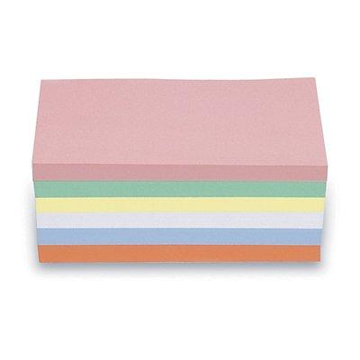 magnetoplan® Fiches cartonnées - rectangulaire, 2 lots de 500 pièces - coloris assortis, 200 x 100 mm