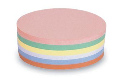magnetoplan® Kommunikationskarten - oval, 2 VE à 500 Stk - farbig sortiert, 190 x 110 mm