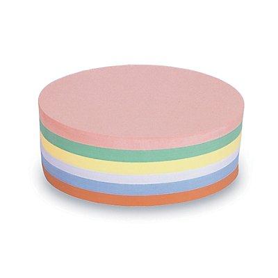 magnetoplan® Fiches cartonnées - ovale, 2 lots de 500 pièces - coloris assortis, 190 x 110 mm