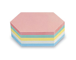 magnetoplan® Kommunikationskarten - Rhombus, farbig sortiert, 2 VE à 500 Stk