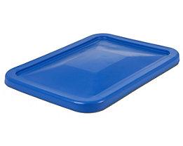 Deckel - für Behälter 227 l, blau