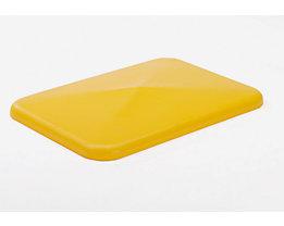 Deckel - für Behälter 227 l, gelb