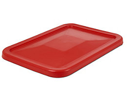 Deckel - für Behälter 227 l, rot