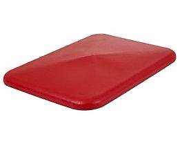 Deckel - für Behälter 340 l, rot