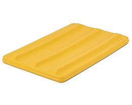 VECTURA Deckel - für Behälter 135 l, gelb