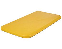 Deckel - für Behälter 450 l, gelb