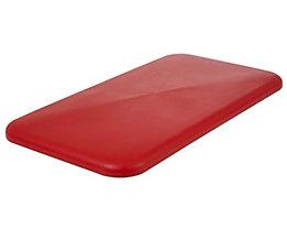 Deckel - für Behälter 450 l, rot