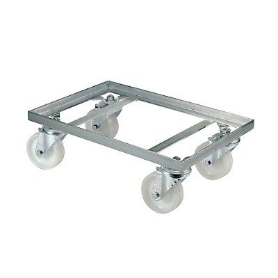 Plateau roulant - châssis en cornière d'acier