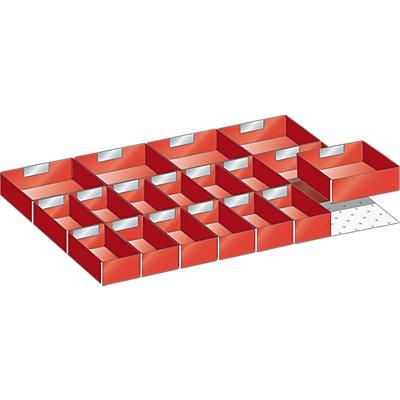 Lista Kunststoffeinsatzkasten - für Schrankmaße 564 x 725 mm