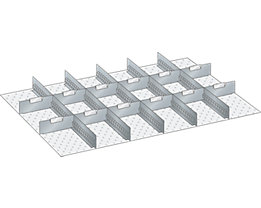 LISTA Trennwand - für Schrankmaße 1023 x 725 mm - für Schubladenhöhe 300 mm