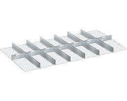 LISTA Trennwand - für Schrankmaße 1431 x 725 mm - für Schubladenhöhe 300 mm