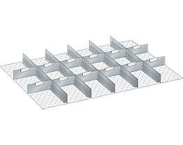LISTA Trennwand - für Schrankmaße 1023 x 725 mm - für Schubladenhöhe 75 mm