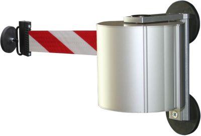 Gurtbandkassette aus Aluminium - magnetisch inkl. Gurtendstück