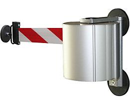 Sabot de réception en aluminium - magnétique, avec extrémité pour sangle