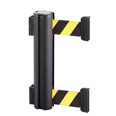 VIAGUIDE Gurtbandkassette DOUBLE aus Aluminium - Bandauszug max. 2300 mm