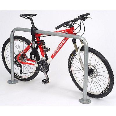 Fahrrad-Anlehnbügel, schlicht - Länge 1000 mm