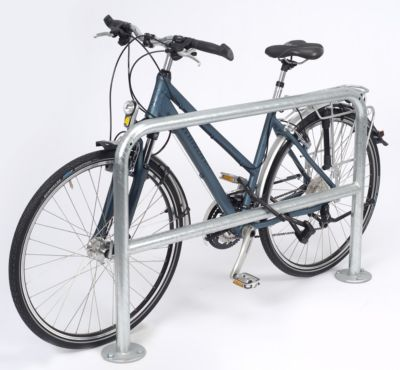 Fahrrad-Anlehnbügel, schlicht - Länge 1200 mm