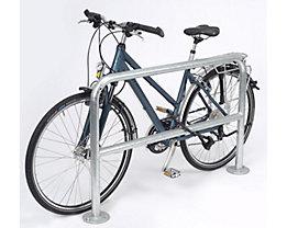 Arceau simple pour vélo, longueur 1200 mm