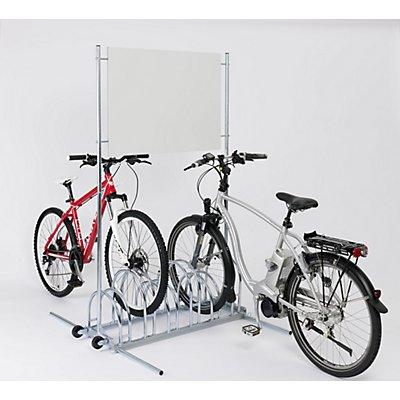 Werbe-Fahrradständer - Werbefläche 890 x 645 mm