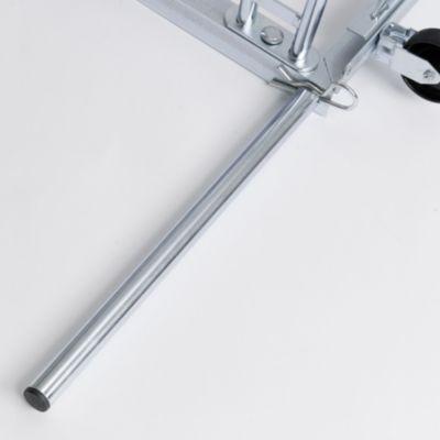 Werbe-Fahrradständer - mit Alu-Klapprahmen für DIN A1