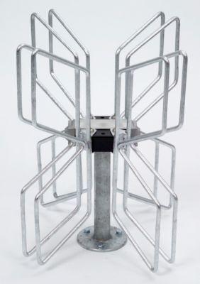 Fahrradständer PAPILLON - 2 x 2 Stellplätze - feuerverzinkt
