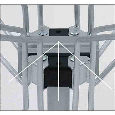 Fahrradständer PAPILLON - 2 x 2 Stellplätze