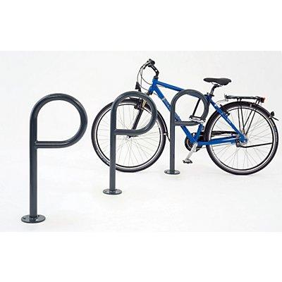 Fahrrad-Anlehnsystem PEP von WSM - farbig beschichtet - zum Aufdübeln, VE 3 Stk