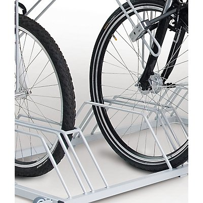 SECURITY STATION, der extrem sichere Fahrradparker - mit Werbetafel